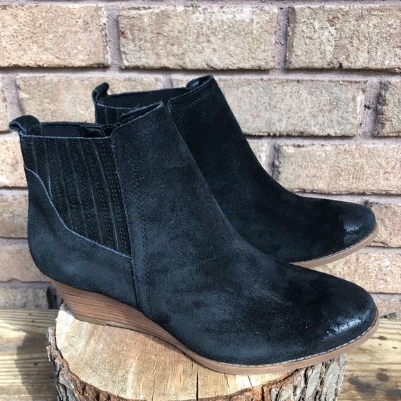 e42ffd622e2c Franco Sarto Shoes - New Franco Sarto Wayra Black Suede Booties size 8